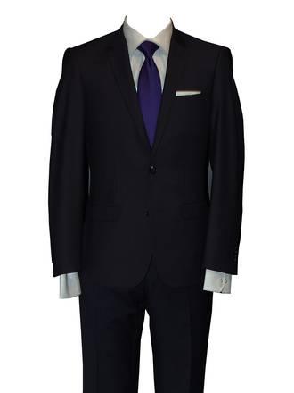 Reuben Navy slim fit Suit