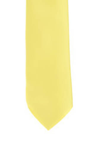 Yellow Satin Tie