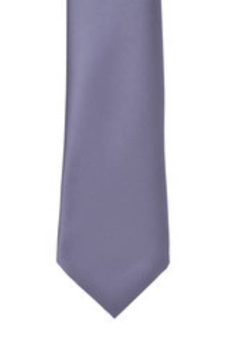 Grape Satin Tie