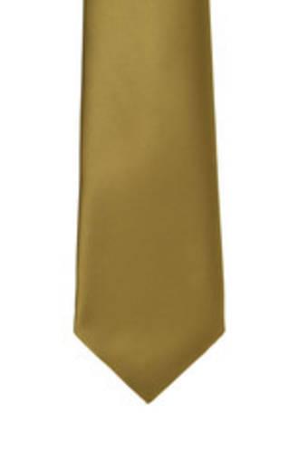 Mustard Satin Tie