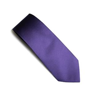 Lilac self pattern tie