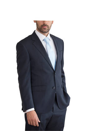 Pure Merino slim fit Navy Suit