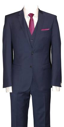 Rich Blue slim fit Suit