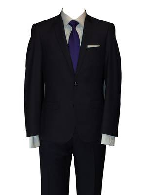 Reuben Navy slim fit Suit