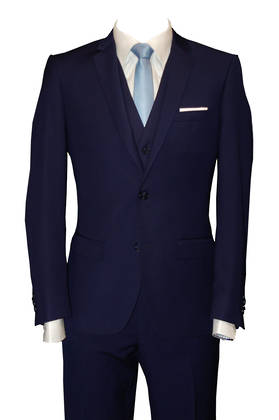 Reuben Blue slim fit Suit