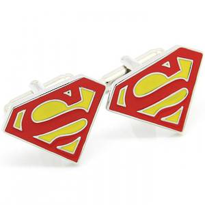Superman Cufflinks - out of stock more arriving soon