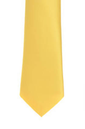 Golden Yellow Tie