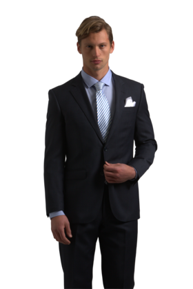 Classic Black slim fit suit